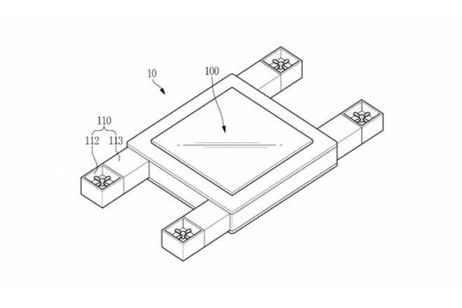 El dron de Samsung podría controlarse con la mirada