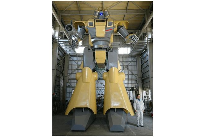 Empresa japonesa crea un robot Mazinger Z real