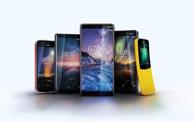 Nokia 1, Nokia 6, Nokia 7 Plus y Nokia 8 Sirocco son oficiales
