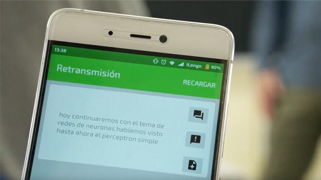 app para personas con discapacidad auditiva Telefónica