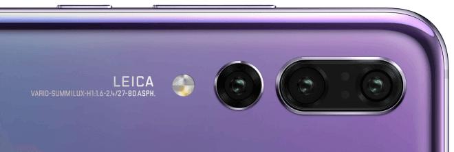 La triple cámara del Huawei P20 Pro según esta foto de WinFuture.