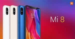 Xiaomi Mi 8 características