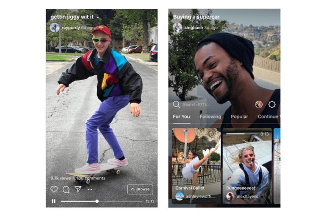 IGTV, así funciona la televisión de Instagram que pretende destronar a YouTube