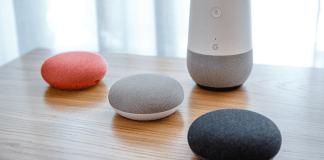 altavoces con Google Home