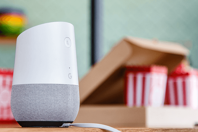 Google Home, el altavoz inteligente con control de voz de Google