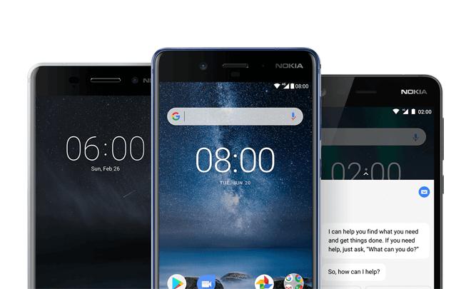 Llega la nueva generación de smartphones Nokia 5, Nokia 3 y Nokia 2