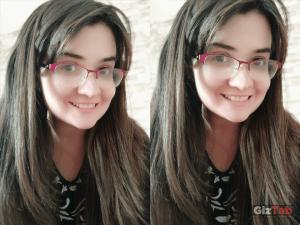Pruebas de modos de la cámara frontal del Redmi Note 5