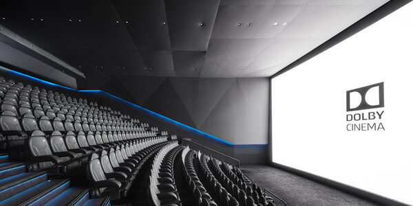 Las salas Dolby Cinema ofrecen una experiencia de cine superior