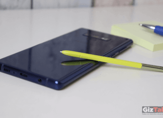 Note 9 Vs. notas de papel
