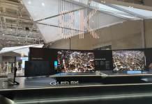 Samsung QLED 8K TV es oficial