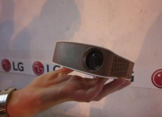 Comprar proyectores LG