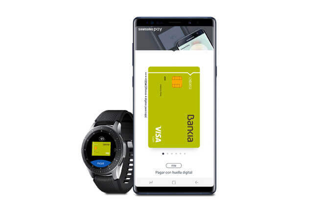 Bankia llega a Samsung Pay