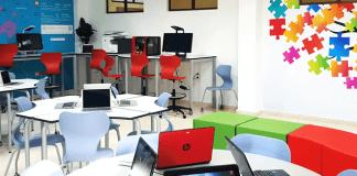 Programa Reinvent the Classroom de HP