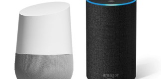 comparativa de Google Home Vs Amazon Echo