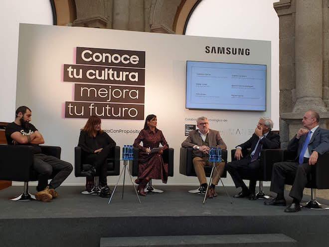 Foro Tecnologia y Cultura organizado por Samsung en su programa Tecnología con Propósito