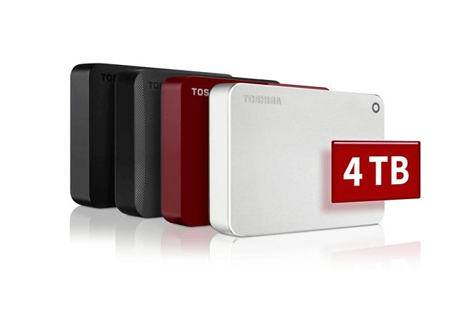 Los nuevos discos externos de Toshiba combinan un diseño elegante con funciones prácticas y capacidad extra
