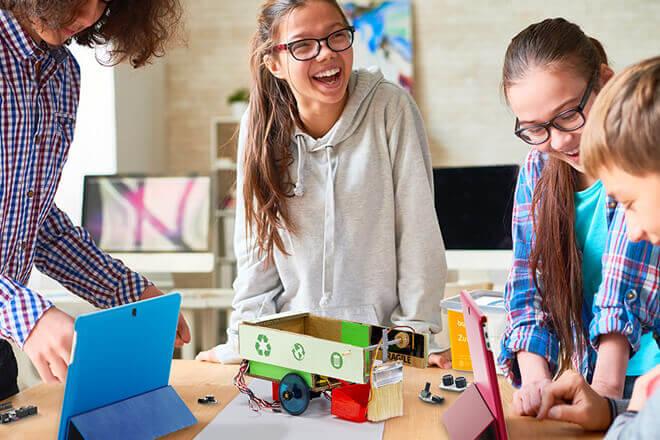 Robots educativos para niños de BQ