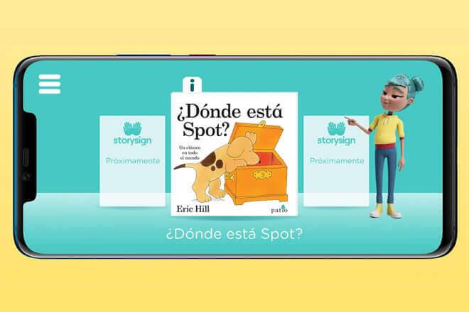 StorySign. la aplicación de Huawei que ayuda a los niños sordos a aprender a leer