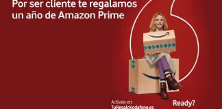 Vodafone ofrece en exclusiva una suscripción de 1 año a Amazon Prime