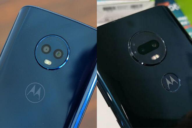 Comparativa del Moto G7 Plus vs Moto G6 Plus