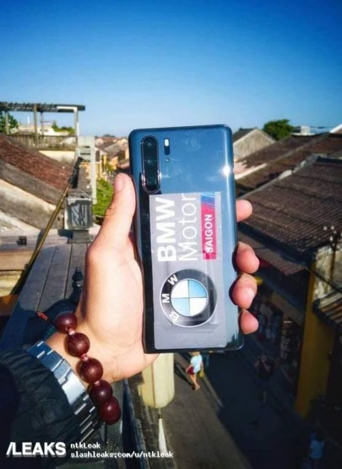 En estas fotos filtradas del Huawei P30 Pro puedes ver sus detalles: 4 lentes traseras