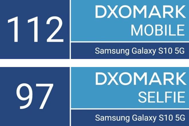 Galaxy S10 5G se convierte en el primer smartphone que obtiene 100 puntos en el apartado de vídeo