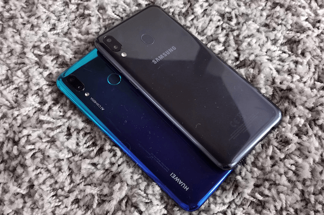 Galaxy M20 Vs Huawei P Smart 2019, comparativa y diferencias
