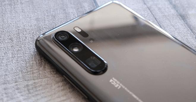 La cámara del Huawei P30 Pro integra cuatro lentes