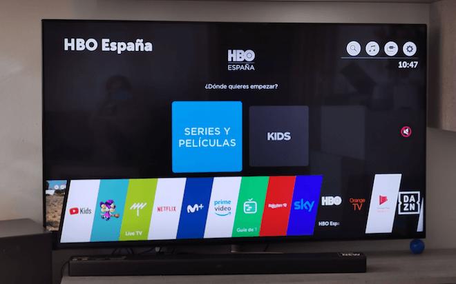 Las TV Smart TV de LG tienen HBO incorporado