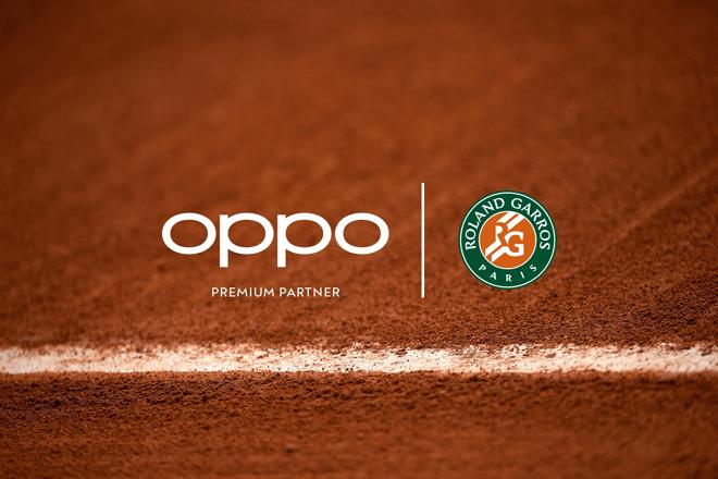 OPPO ha firmado hoy un acuerdo de colaboración con la Federación Francesa de Tenis (FFT), para convertirse en el socio premium y en el smartphone oficial del torneo Roland-Garros