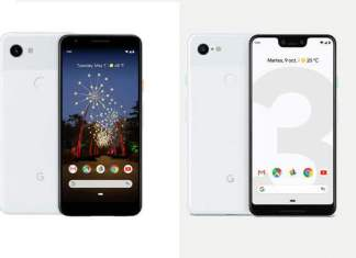 comparativa del Google Pixel 3 Vs Google Pixel 3a