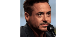 foto del actor Robert Downey Jr.
