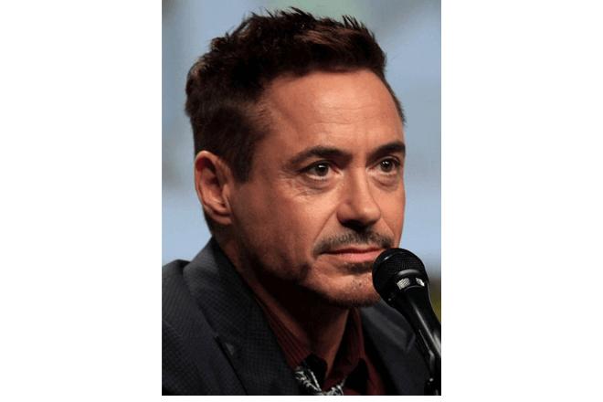 foto del actor Robert Downey Jr.
