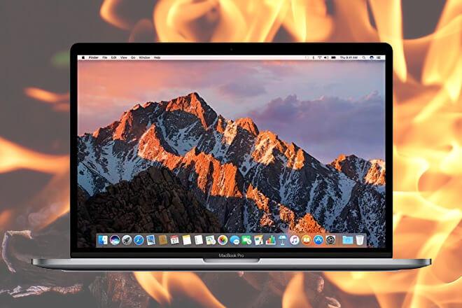 MacBook Pro Retina de 15 pulgadas explota