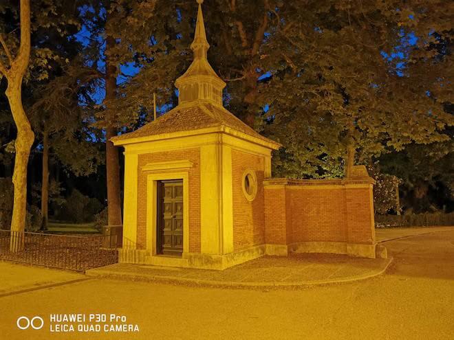 Foto en Modo Noche con el Huawei P30 Pro en el Parque del Retiro de Madrid