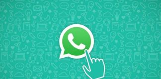 fondo de pantalla de whatsapp con icono de mano
