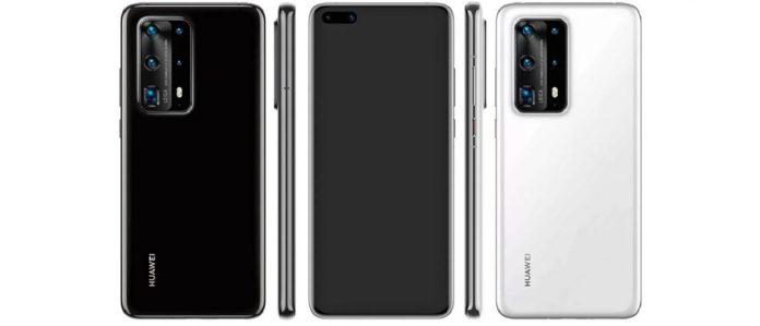 El Huawei P40 Pro desde varios ángulos