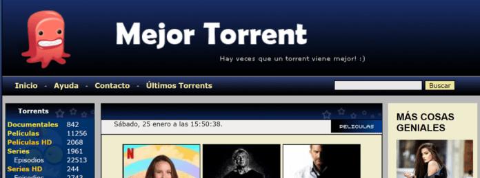 Mejor Torrent, web de descargas