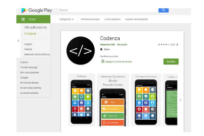 app para aprender a programar desde cero