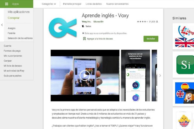 App Voxy