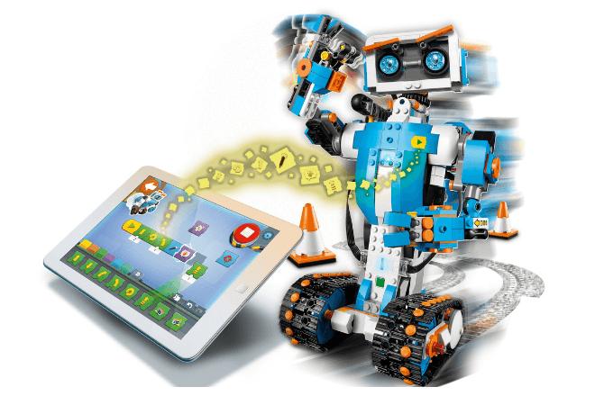 robot LEGO robotica para niños
