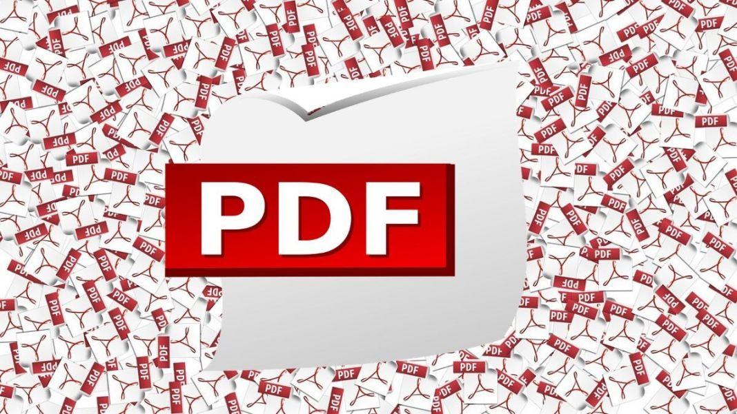 Fondo de pantalla de archivos PDF