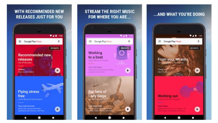 Esta app ofrece una radio gratuita.
