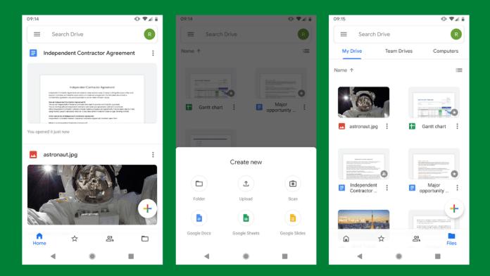Con Google Drive evitamos instalar otra app al móvil.