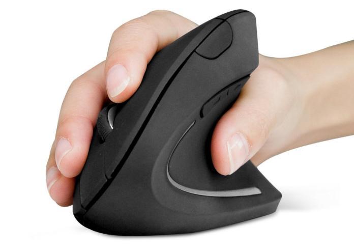 Ratón para el trabajo ergonómico