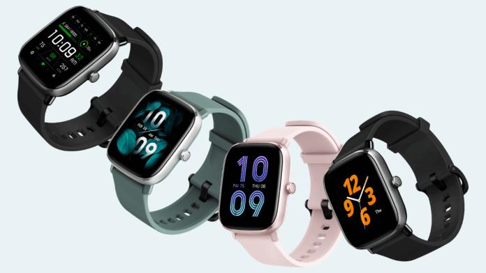Relojes Amazfit GTS mini viene en atractivos colores.