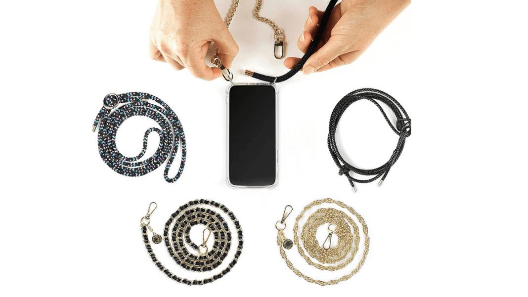 cuerdas para colgar el móvil al cuello