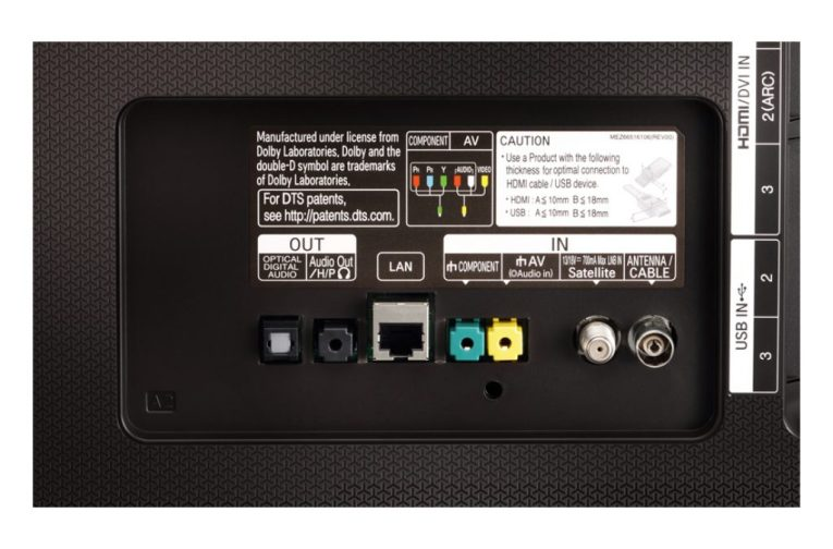 LG 55UH770V conectividad