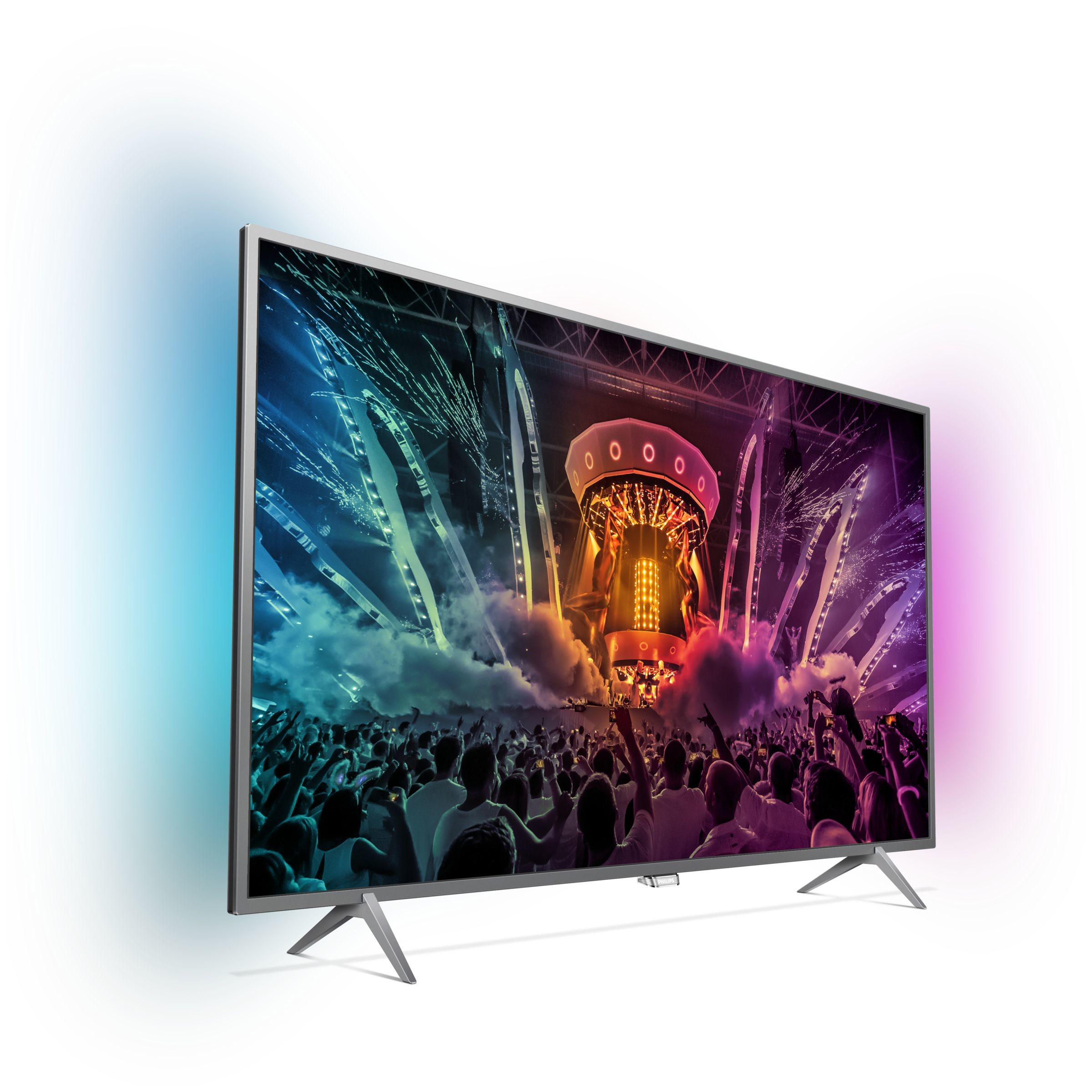 Philips 43PUS6201, televisor 4K con doble Ambilight