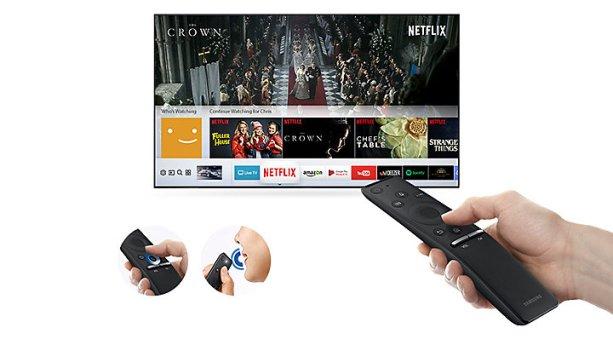 El televisor incluye Tizen 2017